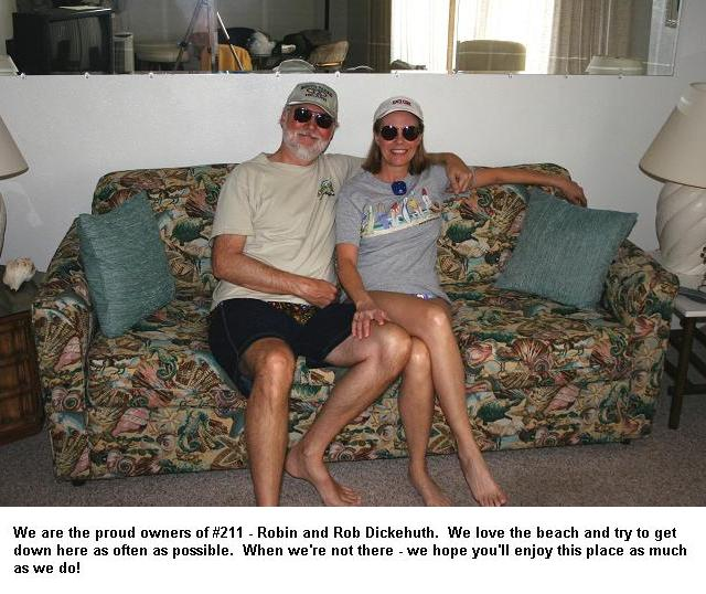 Photo of owners Rob & Robin Dickehuth